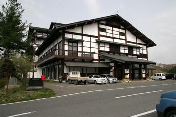 国民宿舎サンホテル衣川荘です。